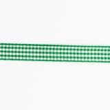 Ruban vichy n°3 15mm vert