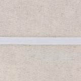 Élastique tresse blanc -12g-