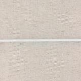 Cordon élastique rond 2,3 blanc