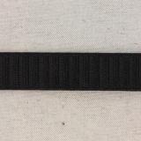 Monte jupe élastique 25mm noir