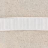 Monte jupe élastique 25mm blanc