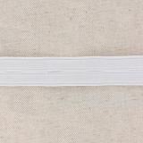 Élastique boutonnière 20mm blanc