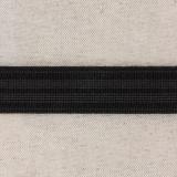 Élastique caleçon 25mm noir