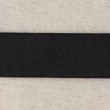 Élastique cotelé 35mm noir