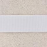 Élastique cotelé 35mm blanc