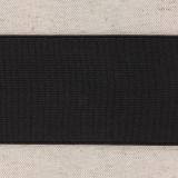 Élastique cotelé 60mm noir