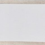 Ceinture élastique maille 80mm blanc