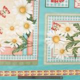 Tissu quilting treasures Daisy garden - 462