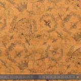 Tissu quilting treasures Queen bee - 462