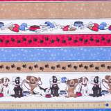 Tissu quilting treasures A dog life