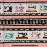 Tissu quilting treasures thimble pleasures - 462