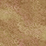 Tissu quilting treasures Ombre scroll camel