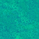 Tissu quilting treasures Ombre scroll jade - 462