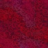 Tissu quilting treasures Ombre scroll rubie