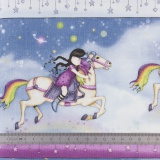 Tissu quilting treasures rainbow dreams - 462
