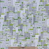 Tissu quilting treasures city life - 462