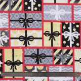 Tissu quilting treasures a nation's song - 462