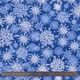 Tissu quilting treasures Winter frost