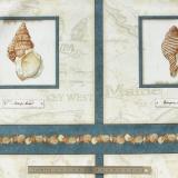 Tissu quilting treasures Sea treasures