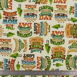 Tissu Quilting Treasures Outdoor adventure - 462