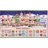 Tissu quilting treasures Santa claus ... - 462