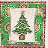 Tissu quilting treasures Santa claus ...
