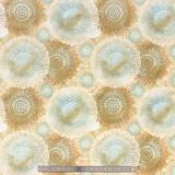Tissu quilting treasures abesque tan foncé