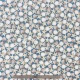 Tissu quilting treasures Seaside bleu
