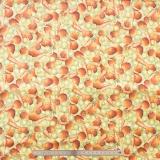 Tissu quilting treasures Cuisine crème - 462