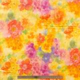 Tissu quilting treasures Sun kissed multicolor