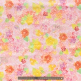 Tissu quilting treasures Sun kissed rose clair - 462