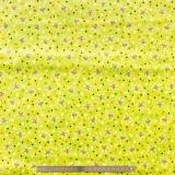 Tissu quilting treasures Pecking order vert clair
