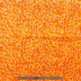 Tissu quilting treasures Pecking order orange