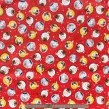 Tissu quilting treasures bunny toss - 462
