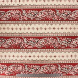 Tissu quilting treasures paisley stripe