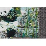 Tissu Quilting Treasures Panda panneau - 462