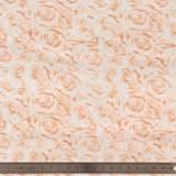 Tissu quilting treasures Roses peche - 462