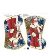 Tissu quilting treasures chaussette de Noël - 462