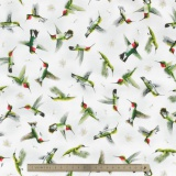 Tissu Quilting Treasures Hummingbirds - 462