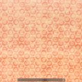 Tissu quilting treasures Woodblock medall rouge