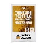 Teinture textile universelle 10g or - 467