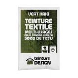 Teinture textile universelle 10g vert kaki - 467