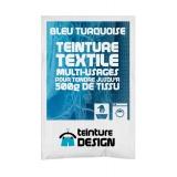 Teinture textile universelle 10g bleu turquoise - 467