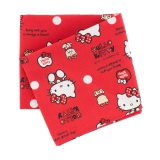 Coupon 50x54cm Hello Kitty bear dot rouge - 468