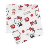 Coupon 50x54cm Hello Kitty bear dot blanc - 468