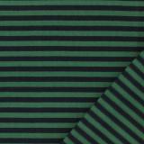 Tissu jersey marine/vert - 468