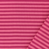 Tissu jacquard Kiyohara rayé rose/rose clair - 468