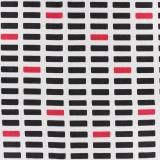 Toile Kiyohara bloc marine rouge 110cm - 468