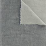 Tissu Kiyohara double gaze chambray marine - 468