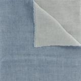 Tissu Kiyohara double gaze chambray bleu jean - 468